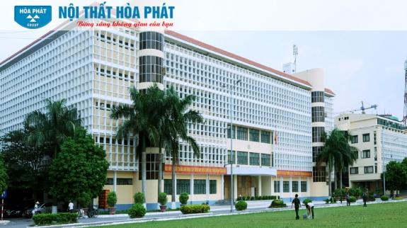 công trình nội thất hòa phát tại học viện kỹ thuật quân sự