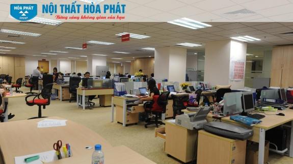Công trình Nội thất Hòa Phát tại Ngân hàng Hàng Hải - MaritimeBank 3