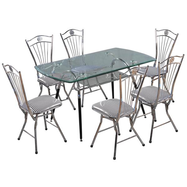 Bộ bàn ghế ăn gia đình B48,G27    Bàn ghế phòng ăn Hòa Phát