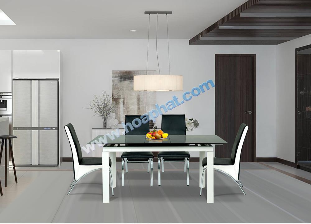 Bộ bàn ghế khung thép B55, G56 | Bàn ghế ăn cao cấp Hòa Phát