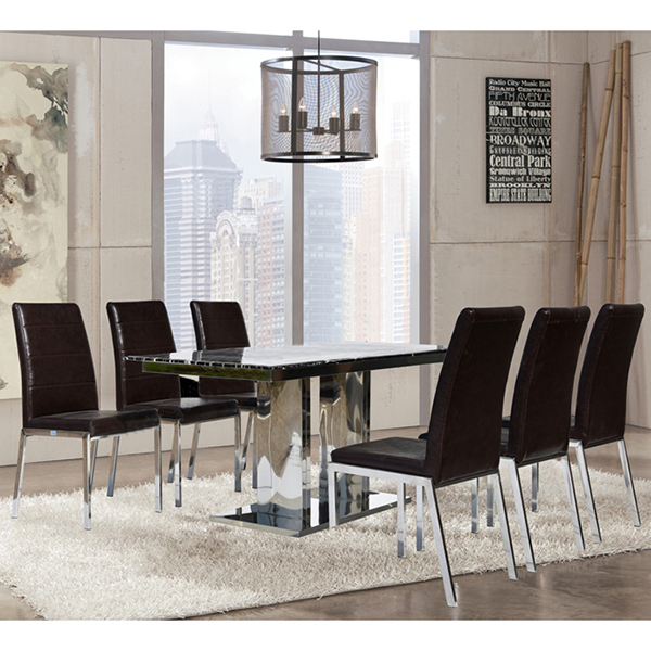 Bộ bàn ăn gỗ b61-g61