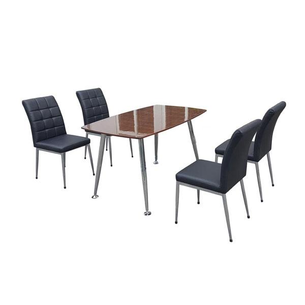Bộ bàn ghế ăn gia đình B68-Verneer,G68 | Bàn ghế phòng ăn Hòa Phát