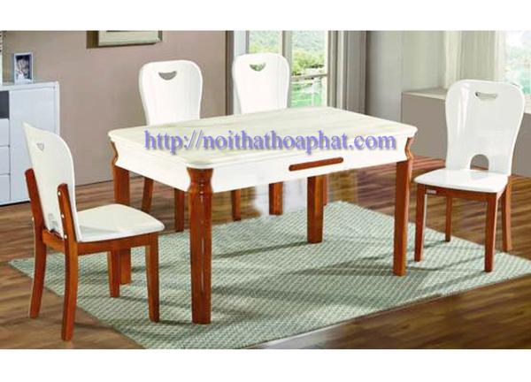 Bộ bàn ghế ăn cao cấp BA128,GA128 | Bàn ghế ăn Hòa Phát