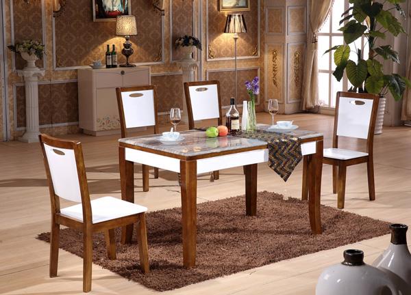 Bộ bàn ghế ăn cao cấp BA130,GA130 | Bàn ghế ăn Hòa Phát