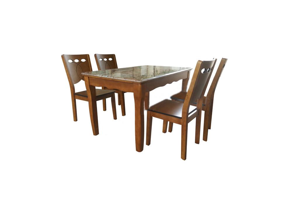 Bộ bàn ghế ăn cao cấp BA131,GA131 | Bàn ghế ăn Hòa Phát