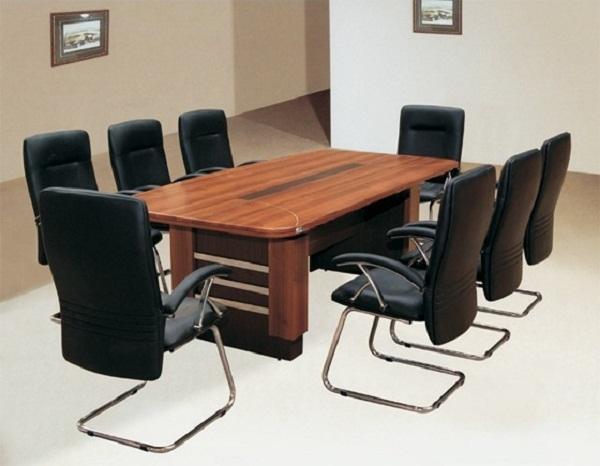 Bàn họp sơn PU CT2412H5CN | Bàn họp văn phòng Hòa Phát | Bàn họp hình chữ nhật