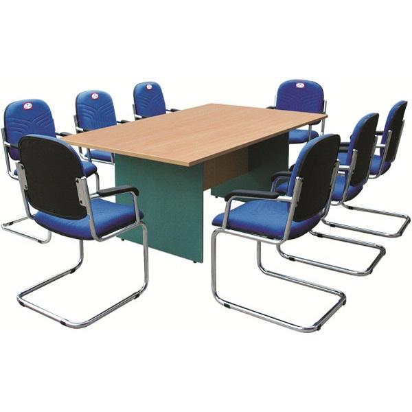 Bàn họp vàng xanh SVH2412CN | Bàn họp văn phòng Hòa Phát