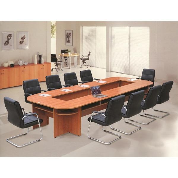 Bàn họp vàng xanh SVH4016 | Bàn họp văn phòng Hòa Phát