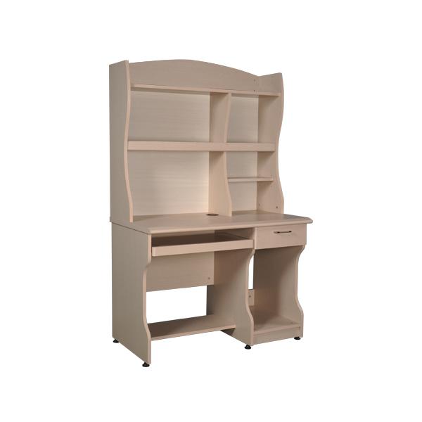 Bàn liền giá sách Newtrend NTB01A | Bàn tủ gỗ Hòa Phát