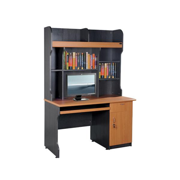 Bàn liền giá sách Newtrend NTB02A | Bàn tủ gỗ Hòa Phát