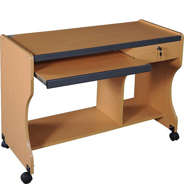 Bàn máy tính gỗ SD15LS | Bàn vi tính Hòa Phát