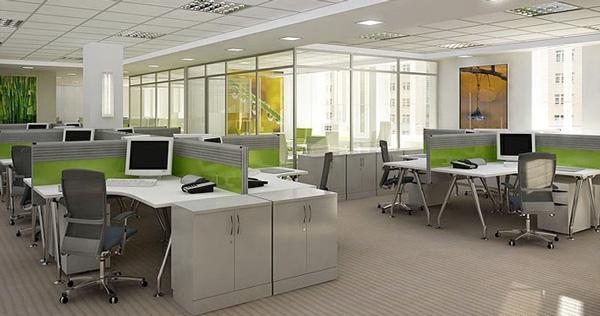 Bàn văn phòng Hòa Phát điểm nhấn cho nội thất văn phòng