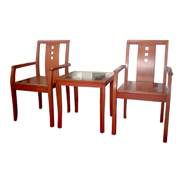 Bộ bàn ghế khách sạn BKS02-GKS02 | Bàn ghế Hòa Phát