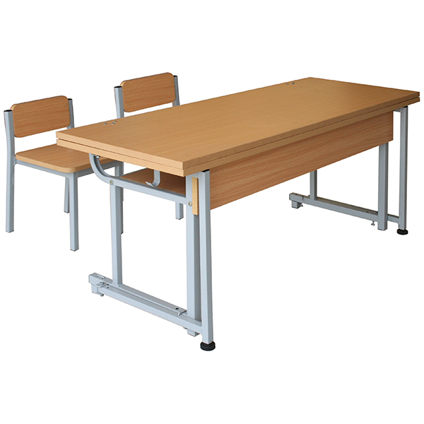 Bộ bàn ghế học sinh bán trú BBT103 + GBT103