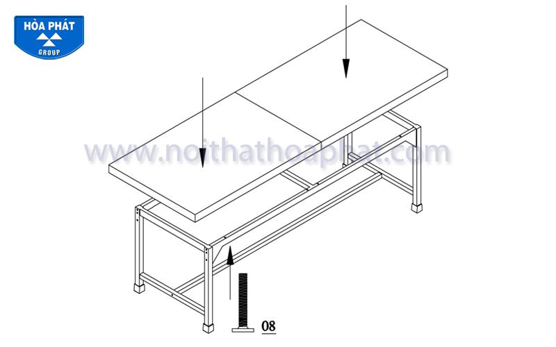 Hướng dẫn lắp đặt bàn siêu âm BSA01