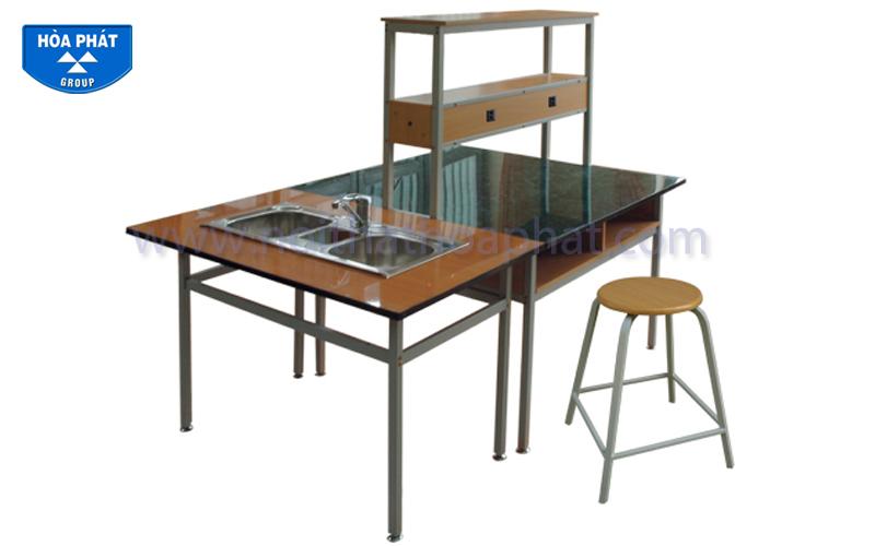 Hướng dẫn lắp đặt sản phẩm bàn thí nghiệm BTN102