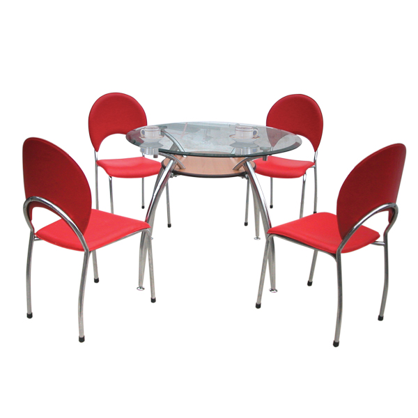 Bộ bàn ghế ăn gia đình B53,G53 | Bàn ghế phòng ăn Hòa Phát