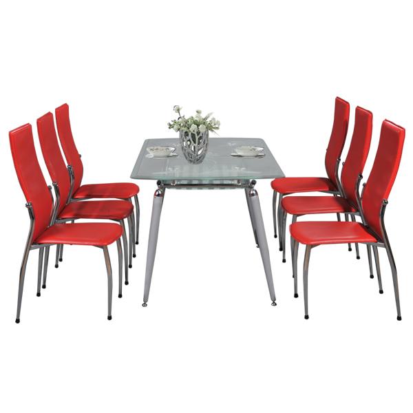 Bộ bàn ghế ăn gia đình B58,G58 | Bàn ghế phòng ăn Hòa Phát