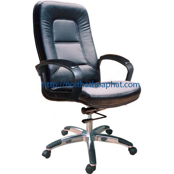 Ghế da trưởng phòng SG909 | Ghế xoay văn phòng Hòa Phát