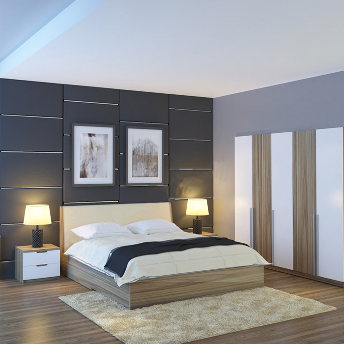 Bộ giường tủ phòng ngủ GN304