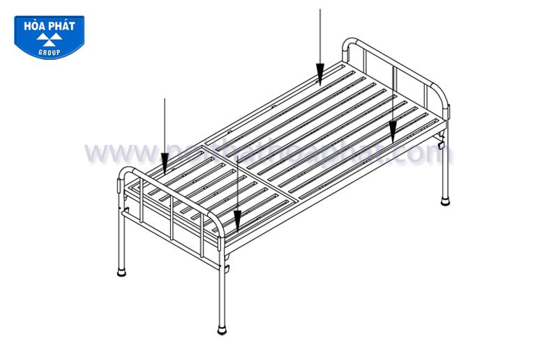 Hướng dẫn lắp đặt giường y tế GYT01