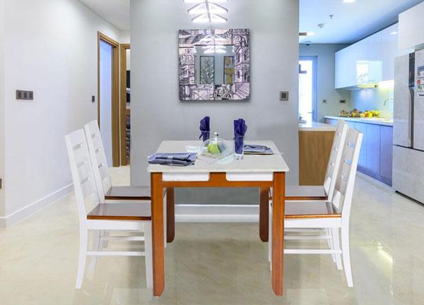 Bộ bàn ghế ăn gỗ HGB64A,HGG64 | Bàn ghế ăn cao cấp Hòa Phát