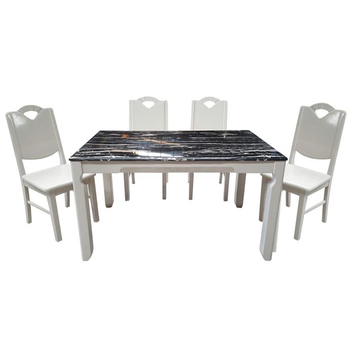 Bộ bàn ghế ăn Hòa Phát HGB65B, HGG65
