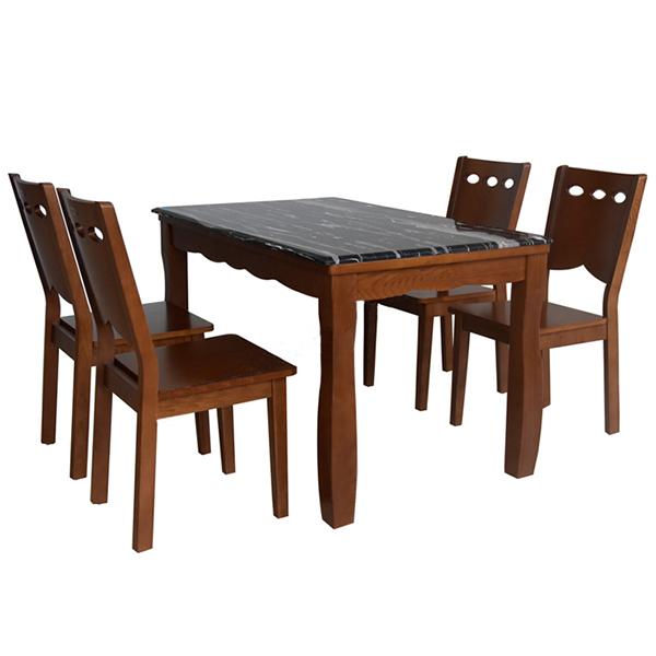 bộ bàn ghế ăn HGB74A,HGG64