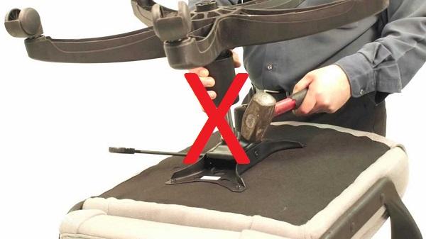 Как отремонтировать амортизатор на компьютерном кресле