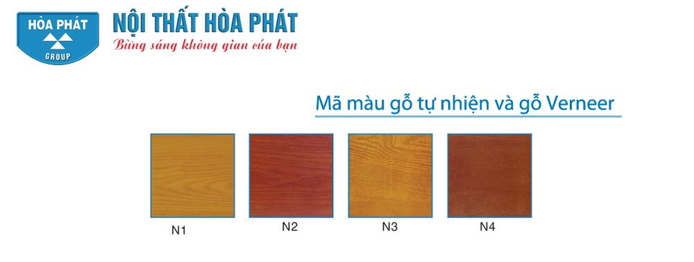 Mã màu gỗ tự nhiên và gỗ Verneer