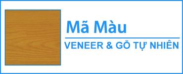 Bảng mã màu gỗ tự nhiên và gỗ Verneer