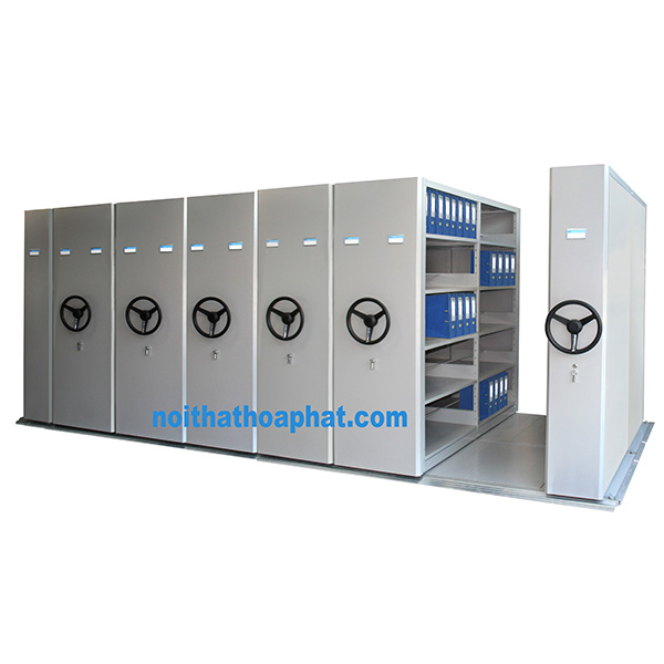 Tủ hồ sơ di động MCF3-5 | Tủ đựng file | Tủ tài liệu Hòa Phát