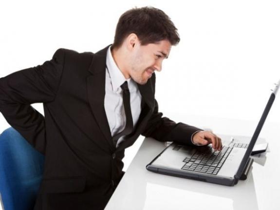 Bệnh đau lưng giới văn phòng