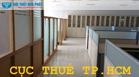 công trình nội thất hòa phát tại chi cục thuế tphcm