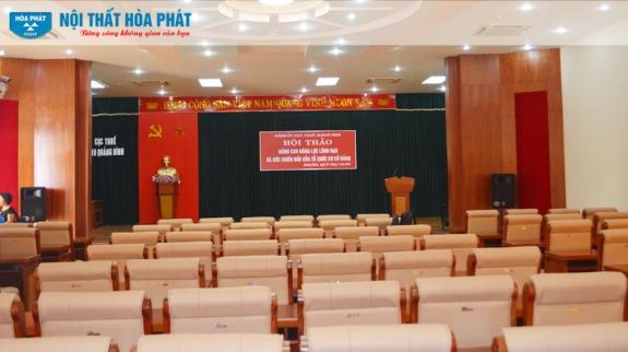 Công trình Nội thất Hòa Phát tại Chi cục thuế tỉnh Quảng Bình 2