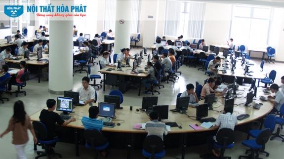 Công trình Nội thất Hòa Phát tại Đại học Đà Nẵng 2