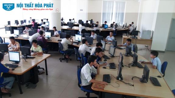 Công trình Nội thất Hòa Phát tại Đại học Đà Nẵng 3