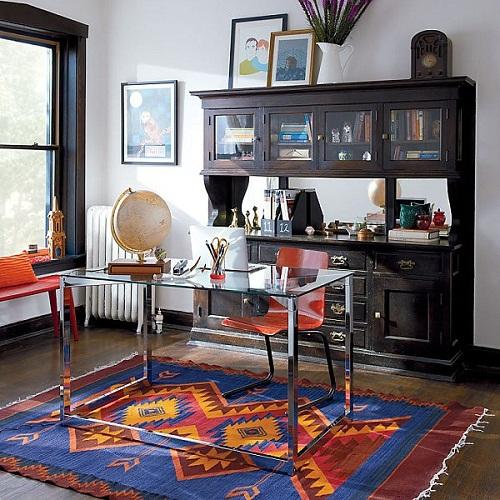 Điểm nhấn cho không gian văn phòng hiện đại màu sắc trung tính
