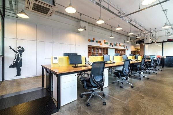 nội thất văn phòng Hòa Phát