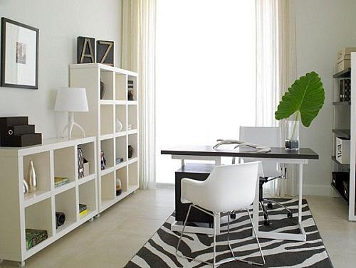 Văn phòng tại gia hiện đại và thu hút