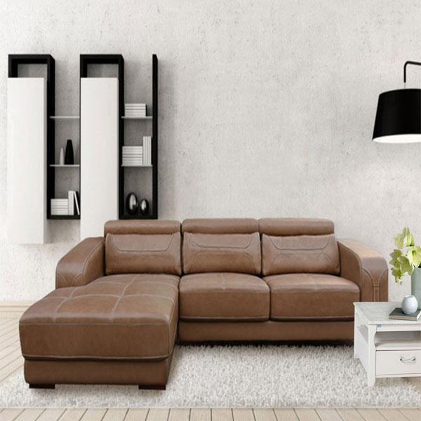 Sofa gia đình SF107A   Sofa góc cao cấp Hòa Phát