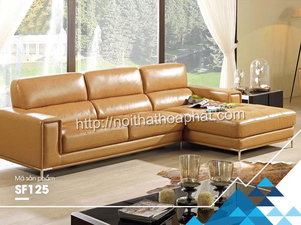 Sofa gia đình cao cấp SF125 | Sofa Hòa Phát