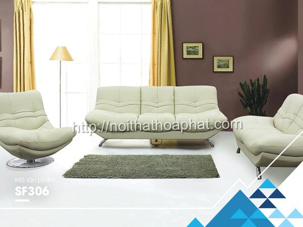 Sofa gia đình cao cấp SF306A | Sofa Hòa Phát