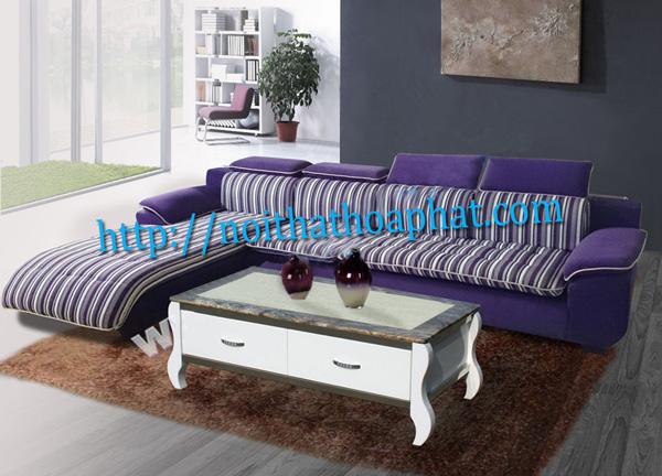 Sofa gia đình cao cấp SF43 | Sofa vải nỉ Hòa Phát