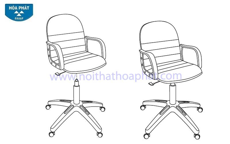 Hướng dẫn lắp đặt ghế xoay SG712