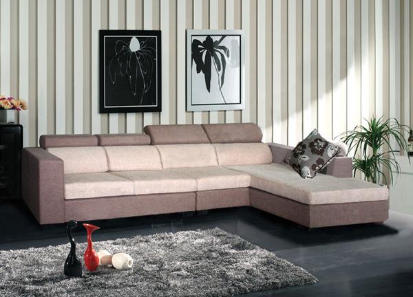 Sofa gia đình cao cấp SF42 | Sofa vải nỉ Hòa Phát