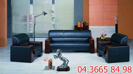 Sofa văn phòng da hoặc nỉ