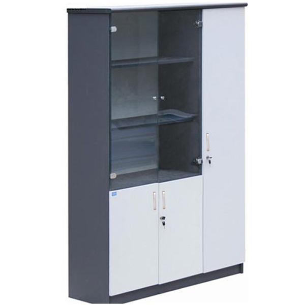 Tủ tài liệu gỗ HP1960-3B | Tủ gỗ Hòa Phát | Tủ văn phòng