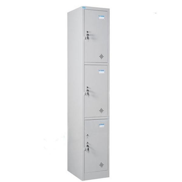 Tủ locker 3 ngăn TU983 | Tủ sắt Hòa Phát | Tủ đồ cá nhân