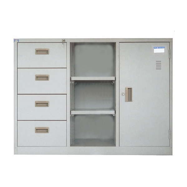 Tủ ghép TU118-4D | Tủ sắt văn phòng | Tủ tài liệu Hòa Phát